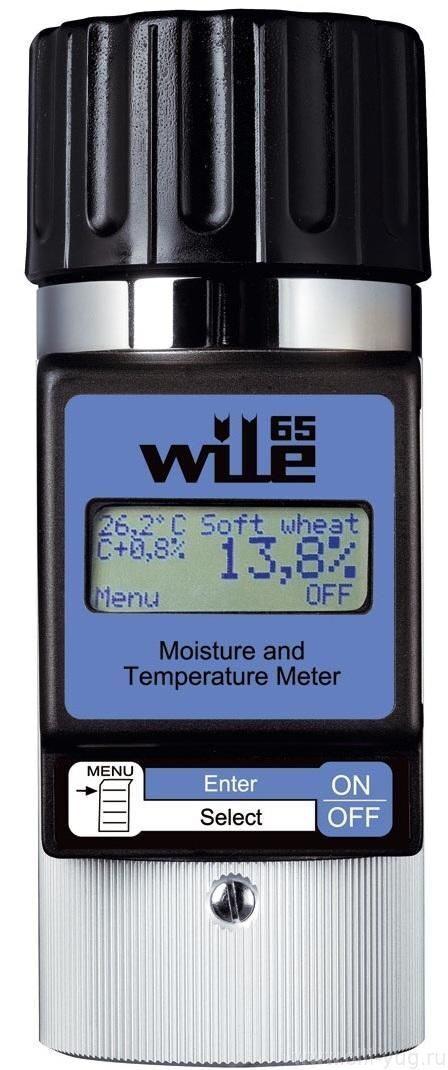 Влагомер зерна и семян Wile 55 портативный